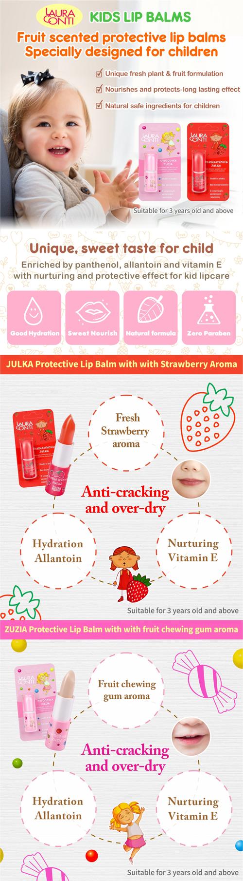 Zuzia protective lip balm