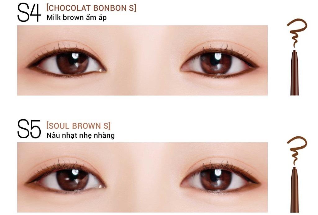 Gel chì kẻ mắt Bbia Last Auto Gel Eyeliner Slim 0.1g (5 màu) 1