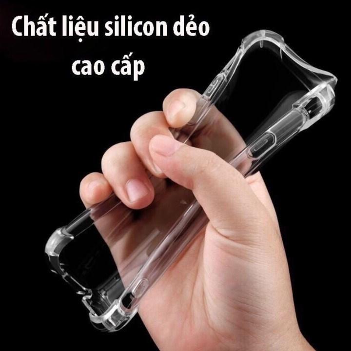 Ốp Lưng Dẻo Chống Sốc Phát Sáng Cho iPhone 7 Plus (Trong Suốt)