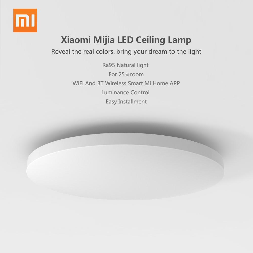 Đèn Led Gắn Trần Nhà Không Dây Xiaomi Mijia Ip60 (32 x32 x7.3cm)