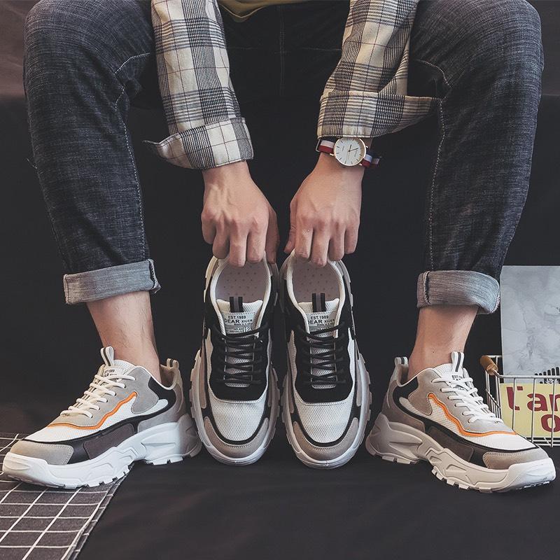 Giày được thiết kế với 2 màu chủ đạo