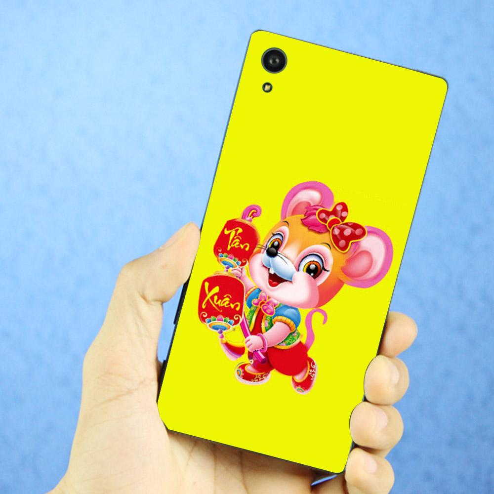 Ốp lưng điện thoại Sony Xperia XA1 - Chuột chúc tết mã 01 MS CCTM01