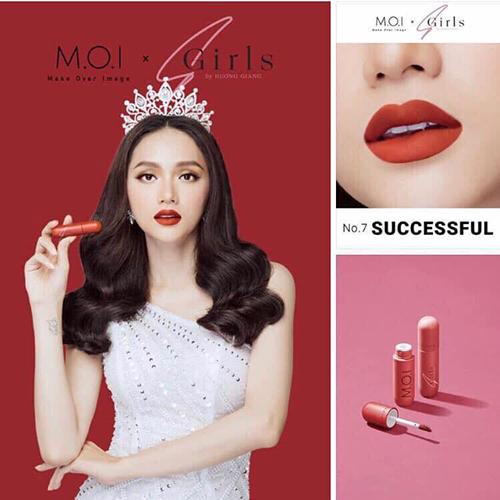 Son môi M.O.I kem lì Sgirls by Hương Giang Hồ Ngọc Hà (chính hãng) 9