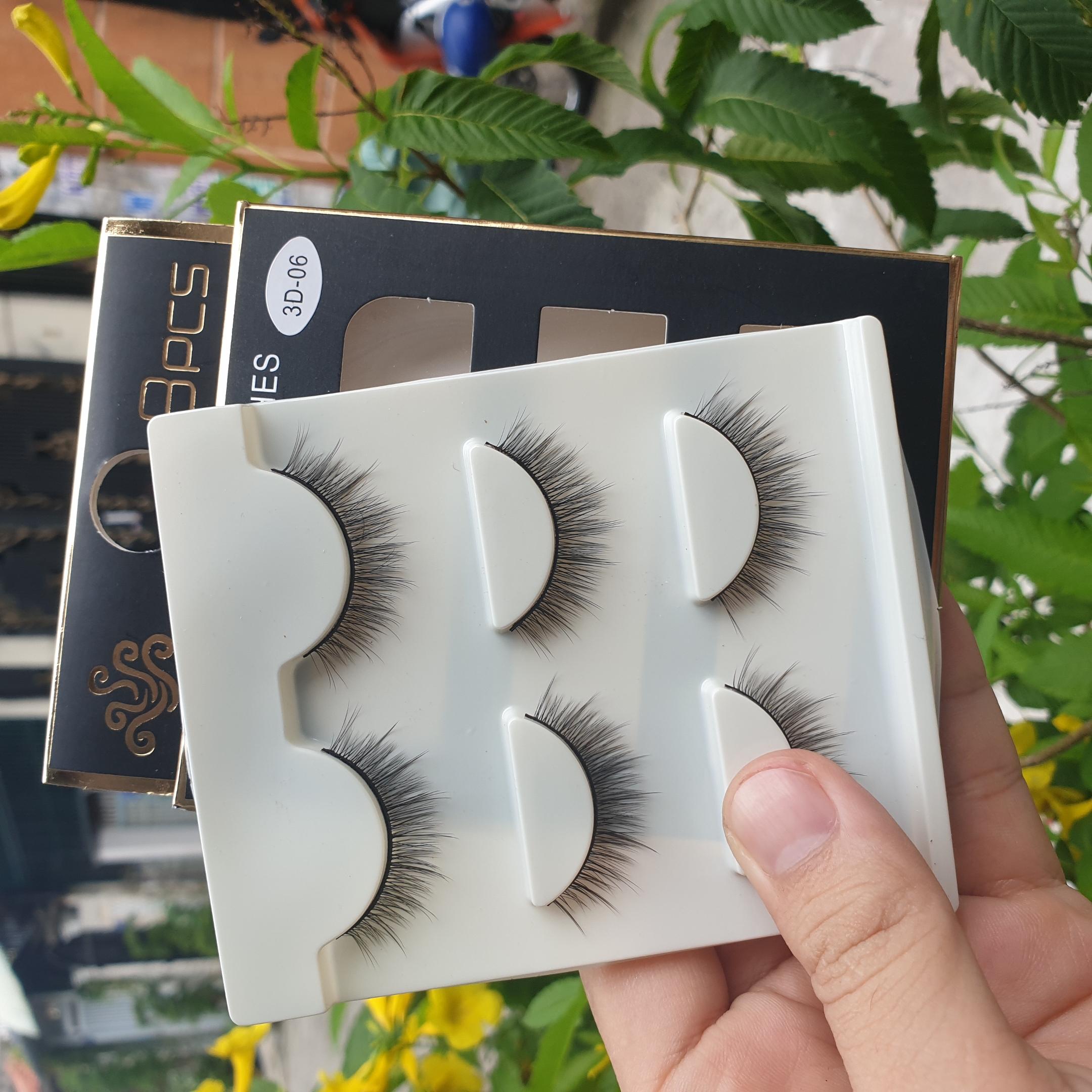 Lông mi giả lông chồn 3 Fashion Eyelashes 3 Faux-Cils 3D 1 bộ 3 cặp 23