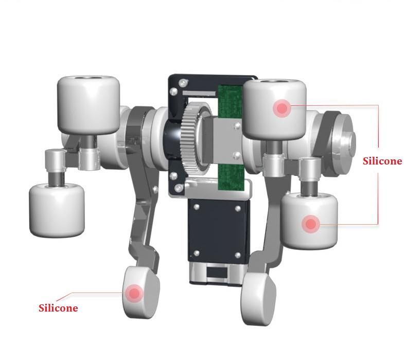 Máy Mát-Xa Cổ Vai Gáy Lưng 3D 3