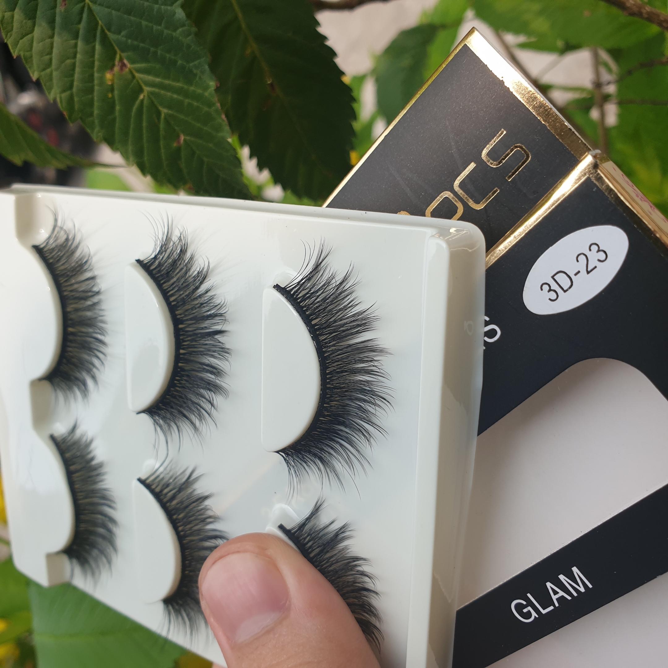 Lông mi giả lông chồn 3 Fashion Eyelashes 3 Faux-Cils 3D 1 bộ 3 cặp 93
