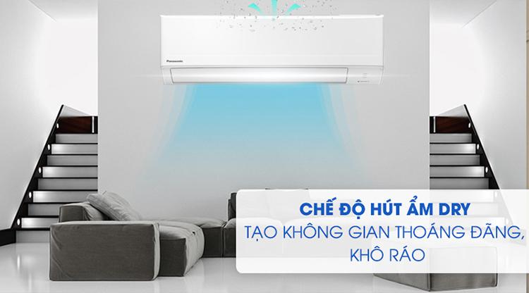 Máy Lạnh Panasonic CU/CS-N12WKH-8 (1.5HP) - Hàng Chính Hãng - Chỉ giao tại HCM