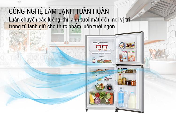 Tủ Lạnh Toshiba GR-A21VPP-S1 (171L) - Hàng chính hãng