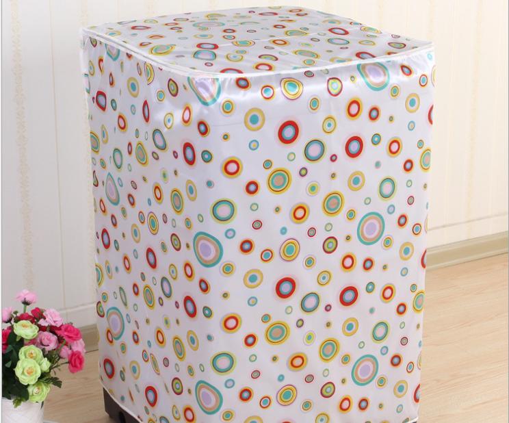 Vỏ bọc bảo vệ máy giặt loại dày ( giao màu ngẫu nhiên) tặng kèm dụng cụ nâng nắp bồn cầu silicon 6
