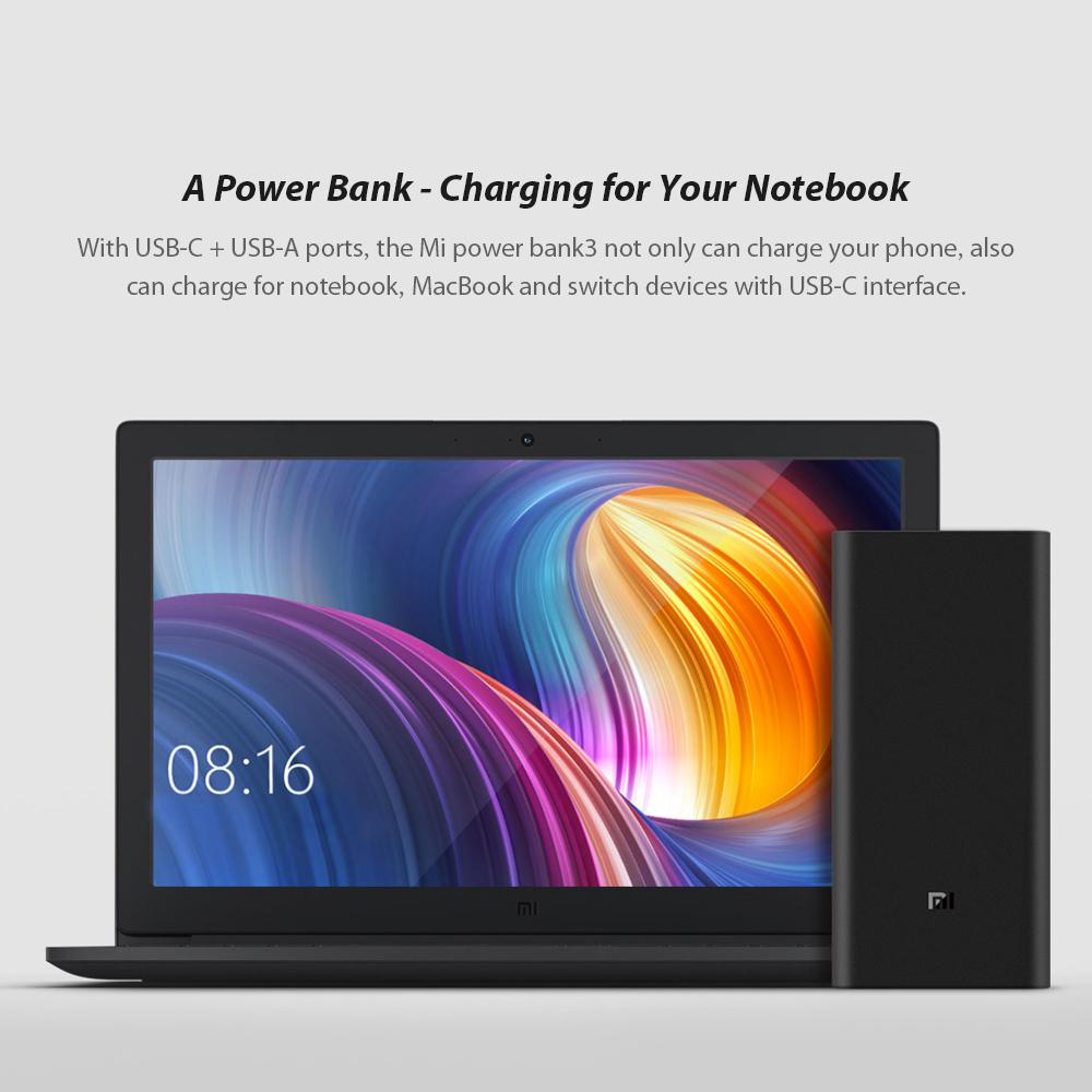 Sạc Điện Thoại Di Động 2 Chiều Xiaomi Mi Power (20000mAh)