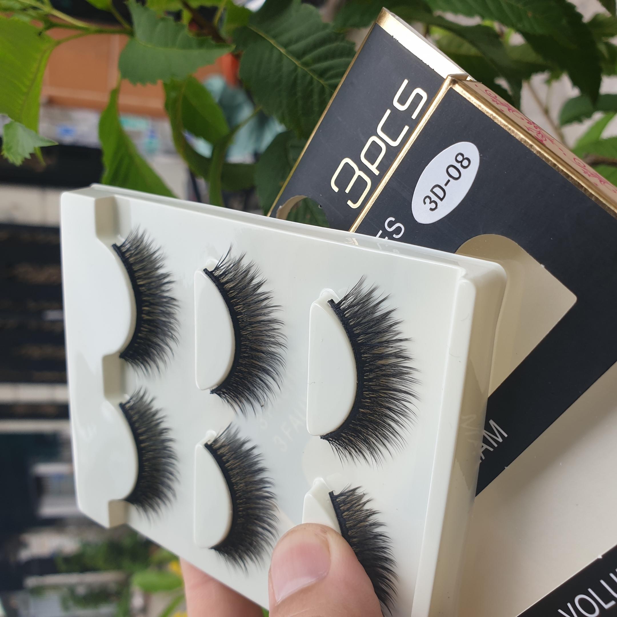 Lông mi giả lông chồn 3 Fashion Eyelashes 3 Faux-Cils 3D 1 bộ 3 cặp 37