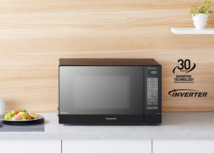 Lò Vi Sóng Inverter Có Nướng Panasonic NN-GT65JBYUE (31 Lít) - Hàng Chính Hãng - Đen