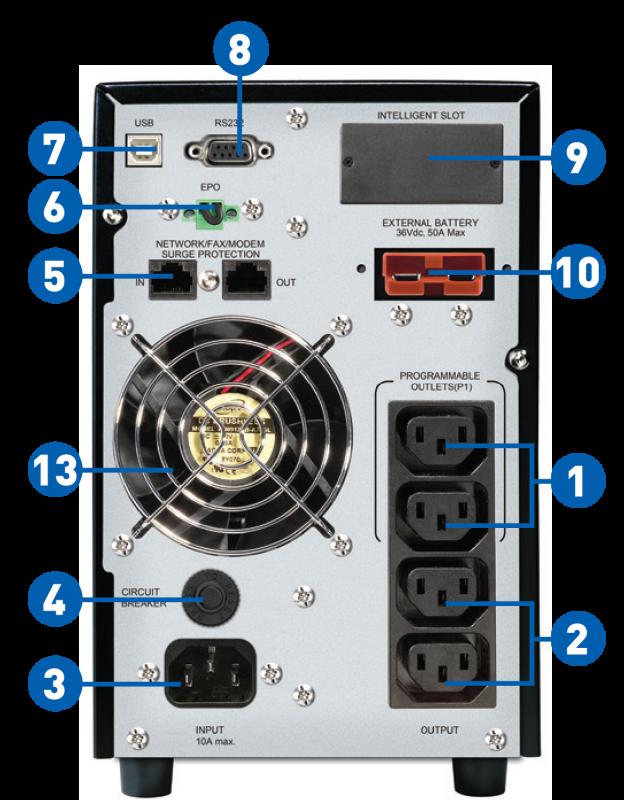UPS PROLiNK Master II PRO801-ES (1000VA/900W) (1P/1P)