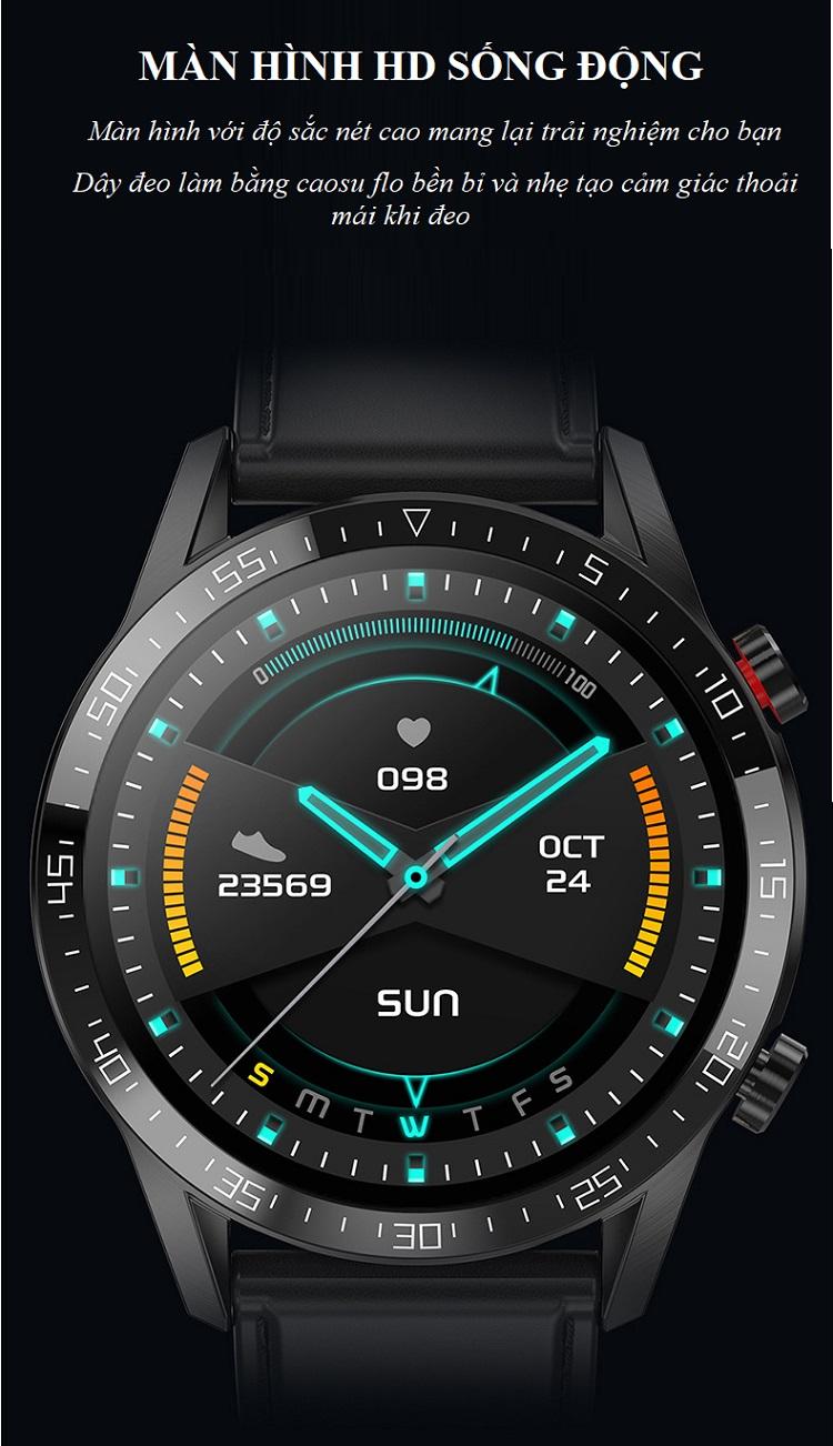 Đồng hồ theo dõi Sức khỏe cao cấp 1.3 -Theo dõi và nhắc nhở vận động 2
