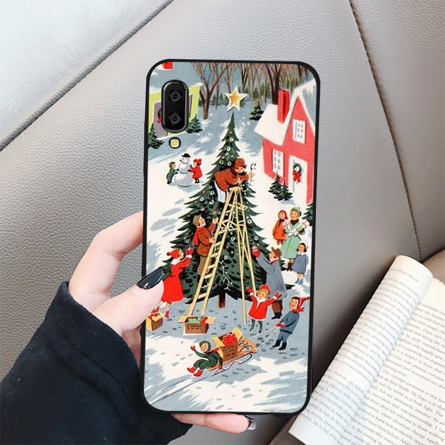 Ốp lưng điện thoại Samsung Galaxy A70 - giáng sinh đầm ấm MS GSDA011