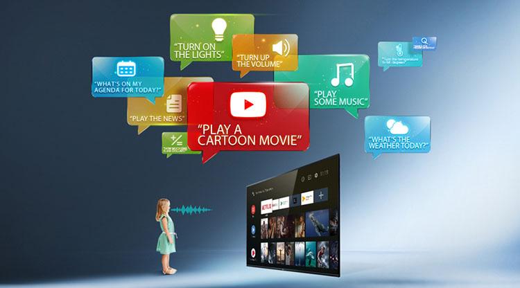 Android Tivi TCL 50 inch L50P715 - Hàng chính hãng