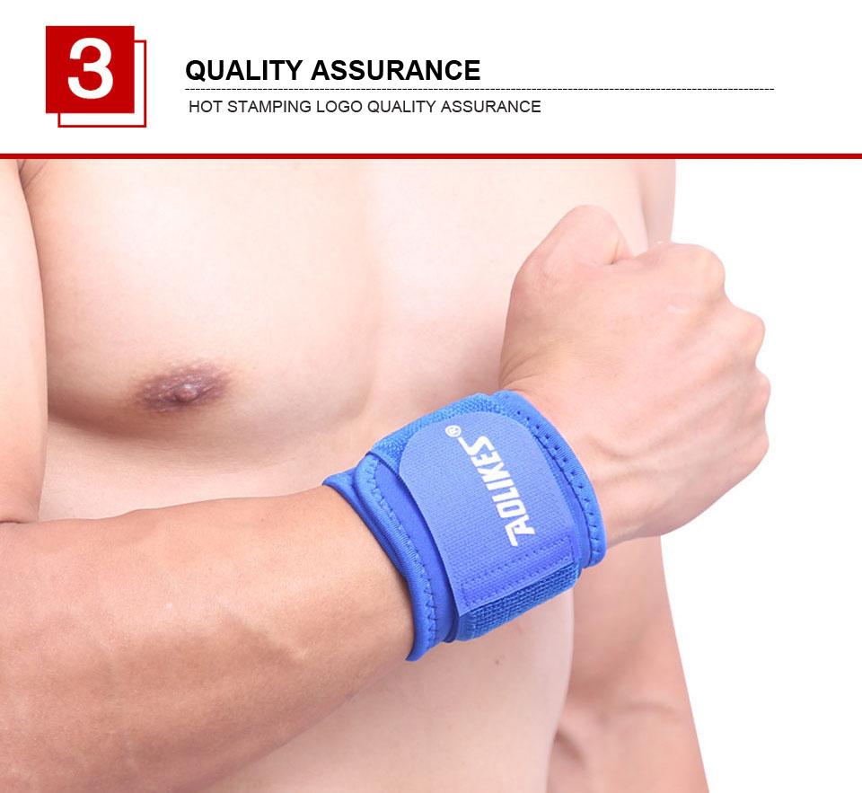 Quấn Bảo Vệ Hỗ Trợ Khớp Cổ Tay Nam Nữ Khi Chơi Thể Thao Sport Pressure Wrist AOLIKES YE-7936