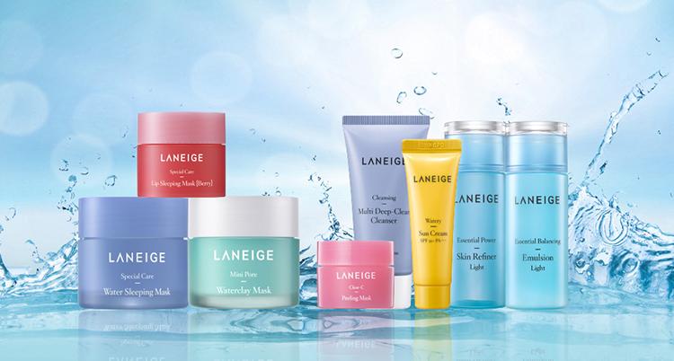 Bộ Du Lịch Giảm Bã Nhờn, Lỗ Chân Lông To Và Mụn Đầu Đen Laneige Clean Skin Set